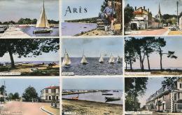 ARES - Vues Multiples (le Centre, Route D'Andernos, Maison De Retraite, Régates, La Jetée....) - Sonstige Gemeinden