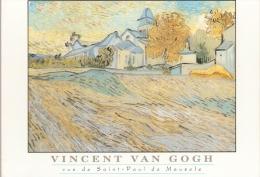 VINCENT VAN GOGH.....vue De Saint Paul De Mausole...15 X 10.5 - Paintings
