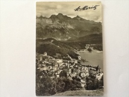 ST. MORITZ VIAGGIATA DEL 1962 - Italia