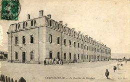 CPA  NEUFCHATEAU . LE  QUARTIER  DE  CAVALERIE - Neufchateau