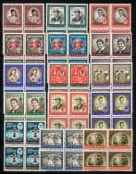 BOY SCOUTS MNH (complete SET)  In BLOCKS Of 4 Sc.#778/C386 = NICARAGUA 1957 - Nicaragua