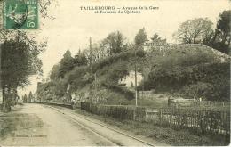 CPA  TAILLEBOURG, Avenue De La Gare  8437 - Altri Comuni