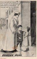"""Heureux Noël  Illustration De Simon """" Prince Ayez Pitié De L'Enfant"""" - Other Illustrators"""