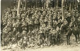 Carte Photo Militaire à Identifier Beau Rassemblement - Unclassified