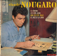 EP 45T C. NOUGARO - Vinyl Records