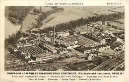 Meurthe Et Moselle -ref A1023- Usines De Pagny Sur Moselle -cie Lorraine De Charbons Pour L Electricité - - Altri Comuni