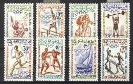 Morocco Maroc Marokko 1960, Olympic Games In Rome - Sport *, MLH - Marokko (1956-...)