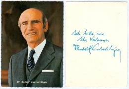 1) AK Rudolf Kirchschläger Österreich Niederkappel Bundespräsident Politik Wien Politiker Austria Autriche - Persönlichkeiten