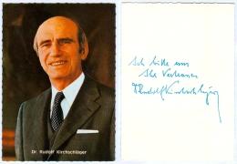 2) AK Rudolf Kirchschläger Österreich Niederkappel Bundespräsident Politik Wien Politiker Austria Autriche - Persönlichkeiten