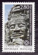 Service  110  -  Unesco  - Angkor  2f80 -  NEUF**  -  Cote  1.70e - Neufs