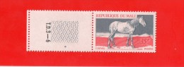 """REPUBLIQUE DU MALI  """""""" 35  F. """""""" CHEVAL ,,AVEC BANDE N° T.D.3.- 6,, ( GAUTHIER ) ,, NEUF SANS CHARNIERE - Mali (1959-...)"""