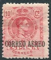 Ed 293* Nuevo Alfonso XIII Medallón Correo Aéreo 10 Cts - Nuevos