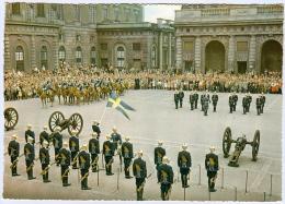 1) AK Stockholm Changing Of The Guards Vaktparaden Schweden Sweden Sverige Soldaten Heer Army Soldiers - Manöver