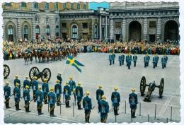 2) AK Stockholm Changing Of The Guards Vaktparaden Schweden Sweden Sverige Soldaten Heer Army Soldiers - Manöver