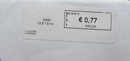 België 2013 Laakdal 2430 - Logo Bpost (briefomslag) - Automatenmarken (ATM)