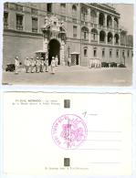 AK Monaco Changing Of Guards Compagnie Des Carabiniers Du Prince Garde Militär Army Soldaten Soldiers - Manöver