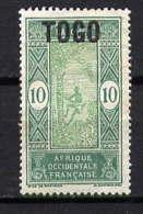 TOGO - N° 105(*) - LE PALMISTE - Togo (1914-1960)