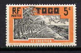 TOGO - N° 127* - LE COCOTIER - Neufs