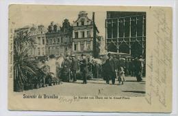 (J192) - Souvenir De Bruxelles - Le Marché Aux Fleurs Sur La Grand'Place / Ed. Nels, Bxl Serie 1 N° 133 - Marchés