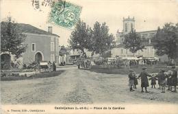 47 CASTELJALOUX PLACE DE LA CARDINE - Casteljaloux