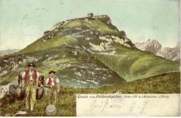 Brülisau - Gruss Vom Hohen Kasten             1903 - AI Appenzell Rhodes-Intérieures