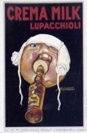 Pubblicitaria - Crema Milk Lupacchioli - Campobasso - Mauzan - Riproduzione Da Originale - Formato Piccolo Non Viaggiata - Publicité