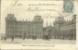 PARIS 4 - Préfecture De Police Et Caserne De La Cité             -- L.J Et Cie - Arrondissement: 01