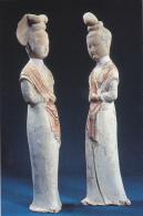 Chinese Relics Figurines Beautiful Women Tang Dynasty Splendid C