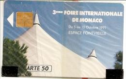 * < MF18 ¤ Ficomias - 3ème Foire Internationale De Monaco - NSB - Monaco