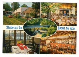 Cp ,  Commerce , Restaurant , Auberge Du Pont Du Roi , 71 , TINTRY , Vierge , Ed : Combier - Restaurants