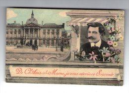 Cp ,  51 , De CHALONS SUR MARNE , Je Vous Envoie Ce Souvenir , Voyagée 1907 - Châlons-sur-Marne