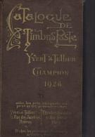 Catalogue De Timbres Poste Yvert Et Tellier . CHAMPION . - France