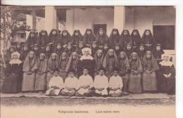 1-Laos-Religiose Laotiane-Religieuses Laociennes-Laos Native Nuns-Religione-Religion-N Uova-Nouveau-New. - Laos