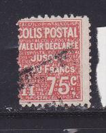 FRANCE COLIS POSTAUX N°98 75C ROUGE VALEUR DECLAREE OBL - Oblitérés