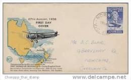 Australia-1958 Tasman Flight 30th Anniversary, Addressed WCS FDC - FDC