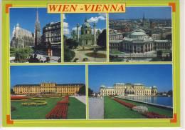 WIEN / VIENNA,  Mehrfachansicht,  Sondermarke SISI - Wien