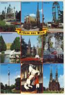 Gruesse Aus WIEN / VIENNA,  Mehrfachansicht,     Hofreitschule - Wien