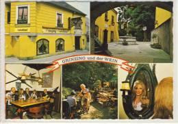 WIEN - GRINZING Und Der WEIN - Mehrfachansicht     Sondermarke  1980 - Grinzing