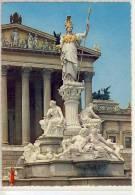 WIEN / VIENNA - Parlament, Pallas Athene - Wien Mitte