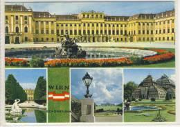 WIEN / VIENNA - Schloss SCHÖNBRUNN, Najade, Gloriette, Palmenhaus - Château De Schönbrunn