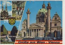 Grüsse Aus WIEN / VIENNA - Karlskirche, Votivkirche .... - Kirchen