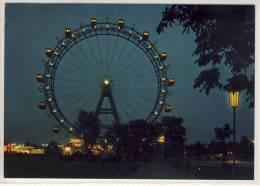 WIEN / VIENNA - Riesenrad, Prater  Bei Nacht - Prater