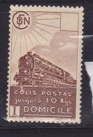 FRANCE COLIS POSTAUX N° 174 (2.70) BRUN  LIVRAISON A DOMICILE NEUF AVEC CHARNIERE - Neufs