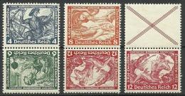 Deutsches Reich 1933 Lot Wagner Zusammendrucke MNH - Unused Stamps