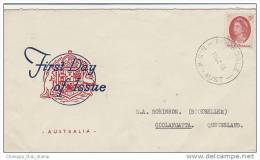 Australia-1965 QEII 5d Red Addressed FDC - Premiers Jours (FDC)