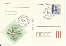 OLI255 -OLIMPIADI SEUL 1988 - INTERO POSTALE UNGHERIA CON ANNULLO SPECIALE - Summer 1988: Seoul