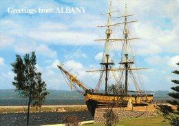 The Brig Amity, Albany, Western Australia -  Albany Residency Museum, Posted 1979 - Albany