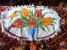 ANCIEN NAPPERON FAIT MAIN - Laces & Cloth