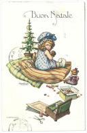 CARTOLINA - BUON NATALE  -  VIAGGIATA  NEL 1914 - Kerstmis