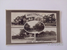 Greetings From Herne Bay College. (5 - 2 - 1933) - England